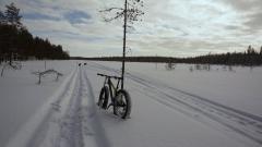Uutta lunta, mutta kantava pinta alla